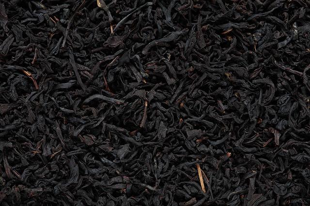 čajové listy sušené