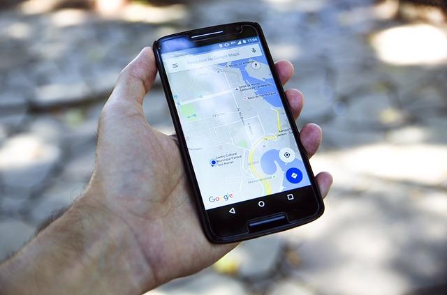 Navigace v mobilním telefonu