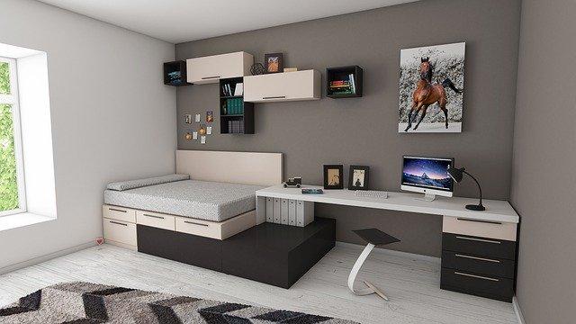 chytré nábytkové řešení